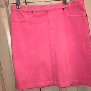 Hue Hot Pink Skirt